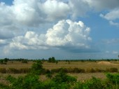 Look of the land back when I was a student in 2008 in the middle of somewhere during Khmer New Year - Middle of Somewhere