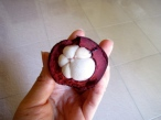 When a midget-sized eggplant swallows a lychee - Phnom Penh, Kandal