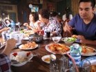 Seven kilos of a freshwater lobster feast - Khoh Tom, Takeo