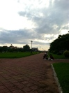 Early morning view from the park - Independence Monument Park, Phnom Penh