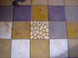 Odd one out of the iconic tile floors of Tuol Sleng - Tuol Sleng Museum of Genocidal Crimes, Phnom Penh