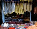 The array of dried fish and seafood products so ubiquitous to the Khmer diet - Central Market, Phnom Penh