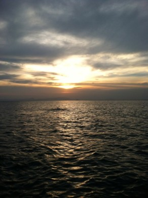 View of the big waters - Kep City, Kep