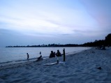 View of the water at Sihanoukville on the eve of the former king's death - Sokha Beach, Kampong Som
