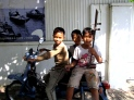 "My ""little brother pals"" who hang out on the corner outside my house - Phnom Penh, Kandal"
