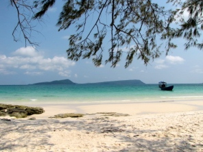 Even some Cambodians (Ex: My own family) have a hard time believing something like this exists in the country - Koh Rong, Kampong Som