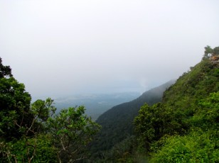 View of the side of the mountain - Phnom Bokor, Kampot