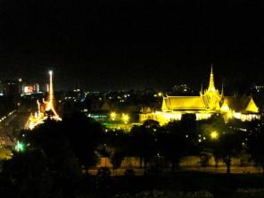 View of the royal palace - Frangipani Villa Royal Palace Hotel, Phnom Penh