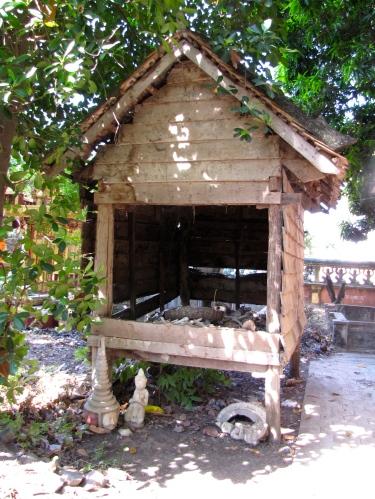 Front side of memorial - Wat Kesararam, Siem Reap
