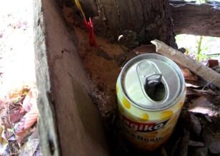 Materials in the genocide memorial - Wat Kesararam, Siem Reap