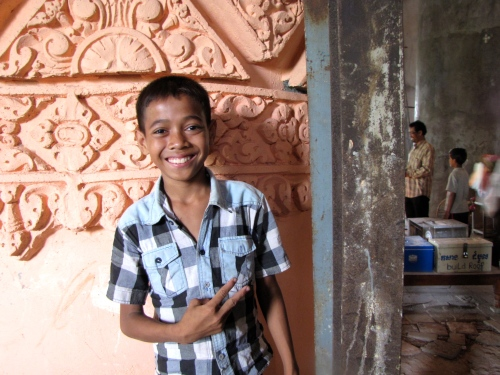When I first met 14-year old Roat - Phnom Oudong, Kandal