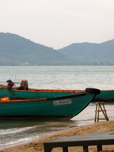 View from shore of Rabbit Island off the coast of Kep - Koh Tonsai, Kep