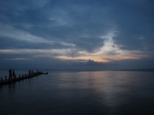 Just after the sun set - Sailing Club, Kep