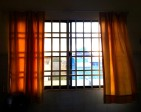 Looking at my bedroom window on a spring morning - Tuol Tompong, Phnom Penh